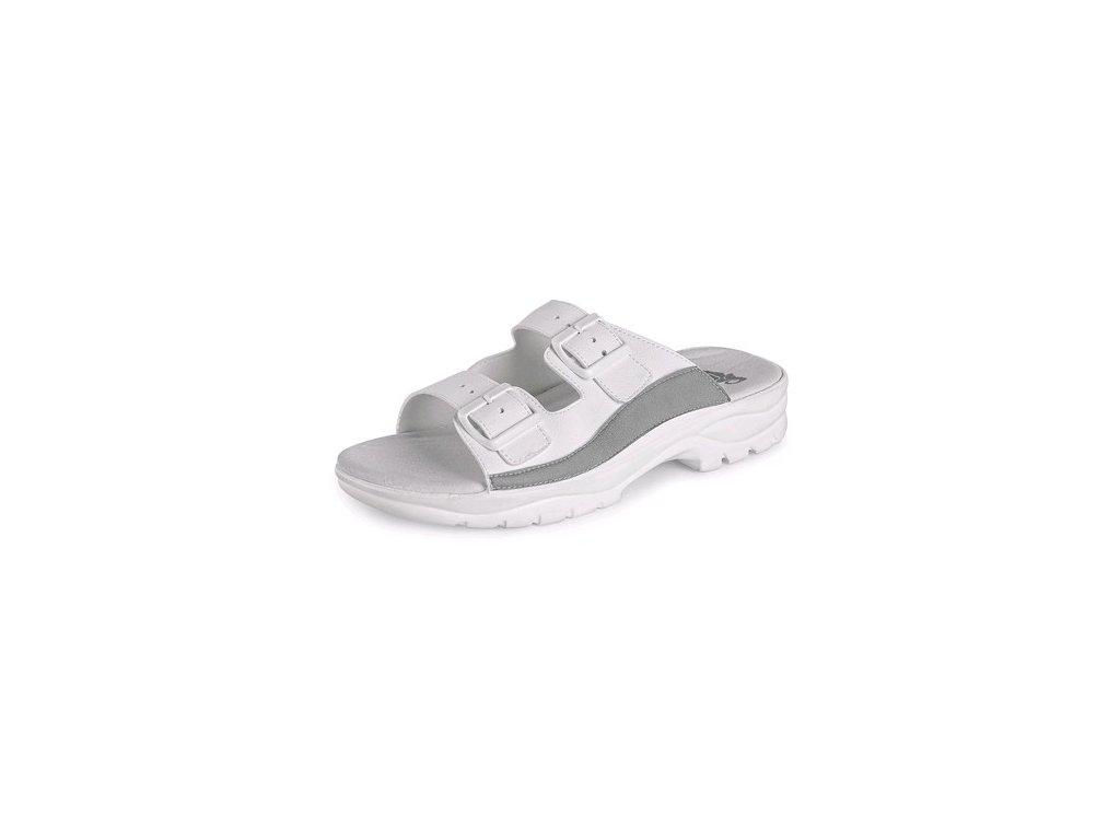 Obuv sandál CXS BEA, bez pásku, bílý