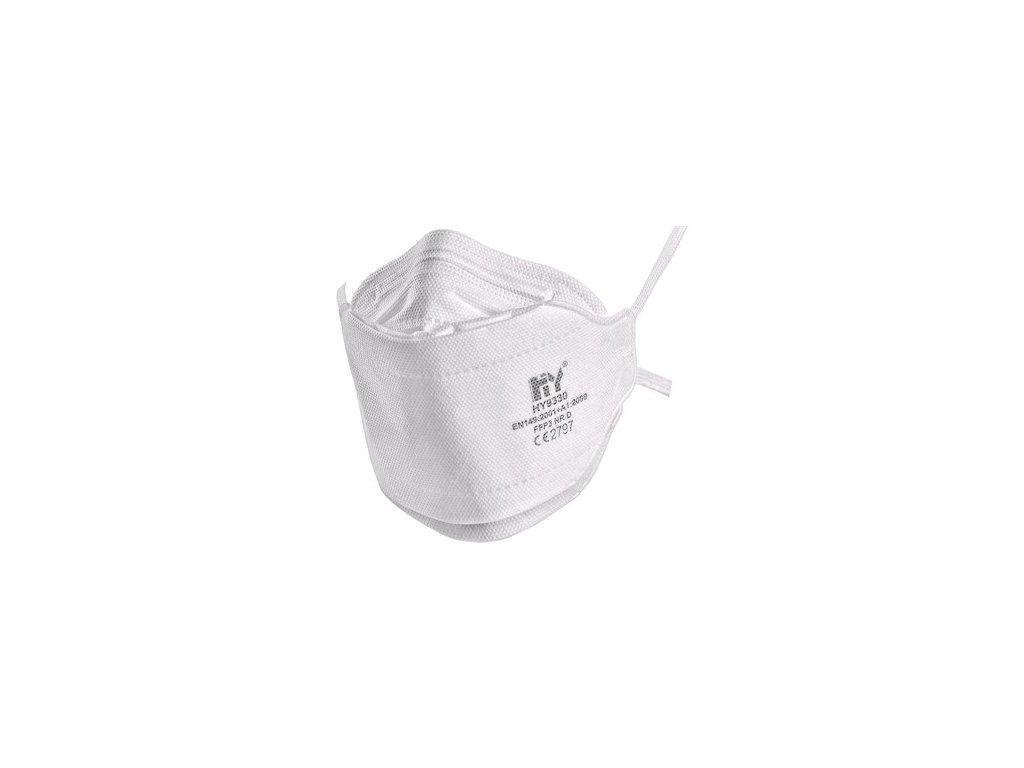 Filtrační polomaska FFP3, bez ventilku (HY9330)