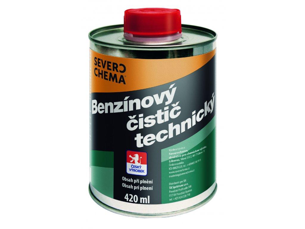 benzinovy cistic technicky 420ml CMYK