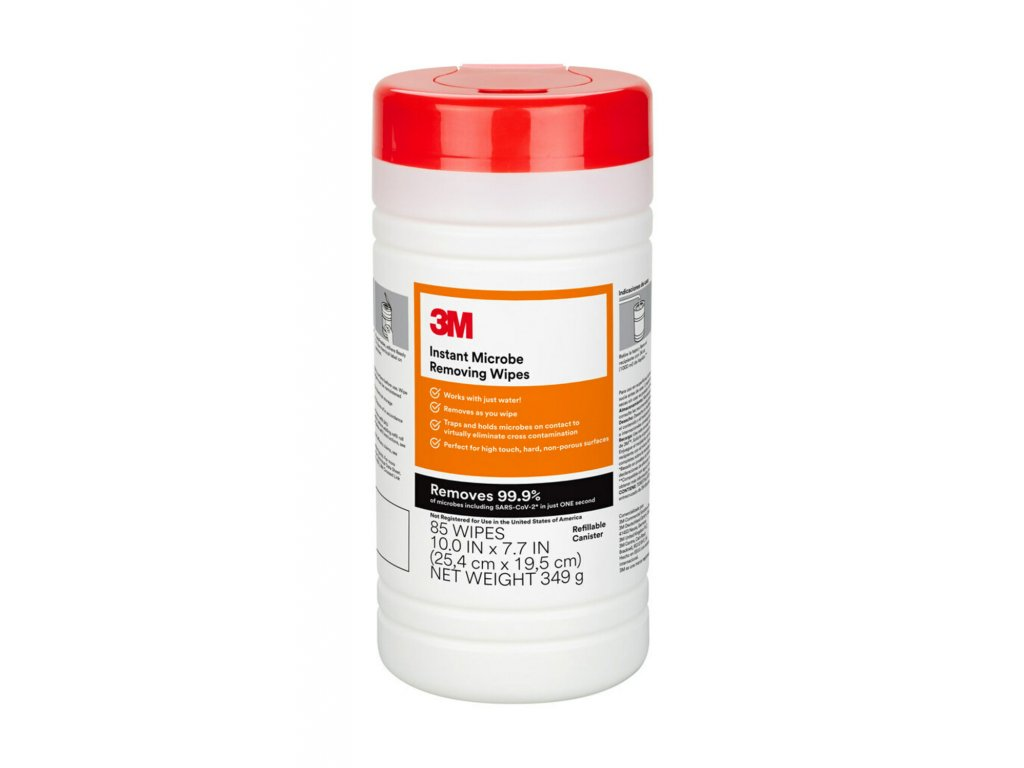 Instant Microbe Removing Wipes Front English