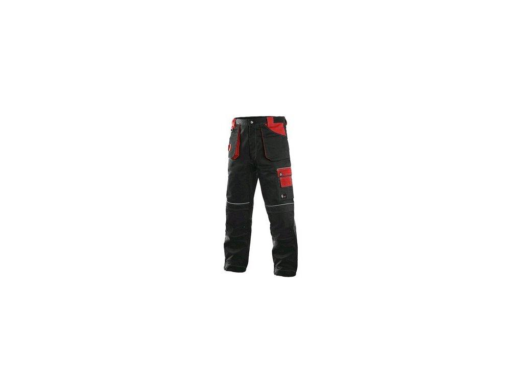 Kalhoty do pasu CXS ORION TEODOR, zimní, pánské, černo-červené
