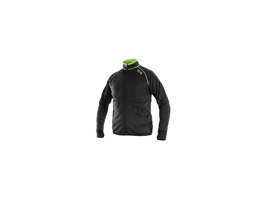 Pánská mikina TORONTO, černo-zelená