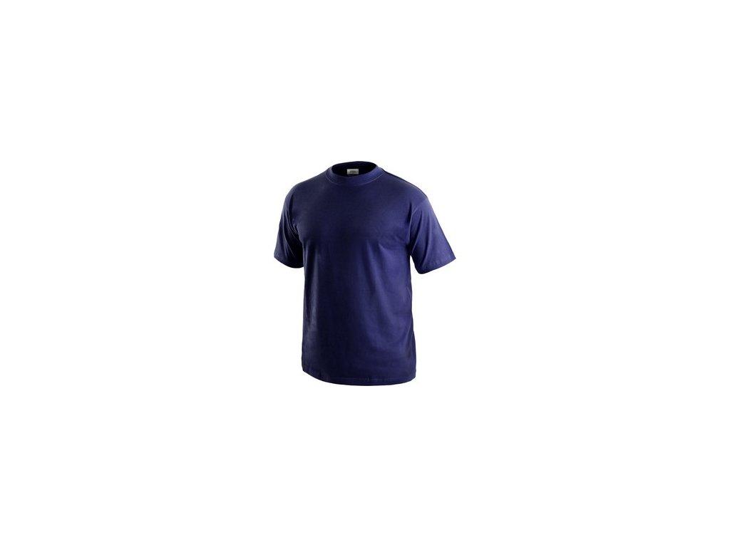 Tričko CXS DANIEL, krátký rukáv, tmavě modré