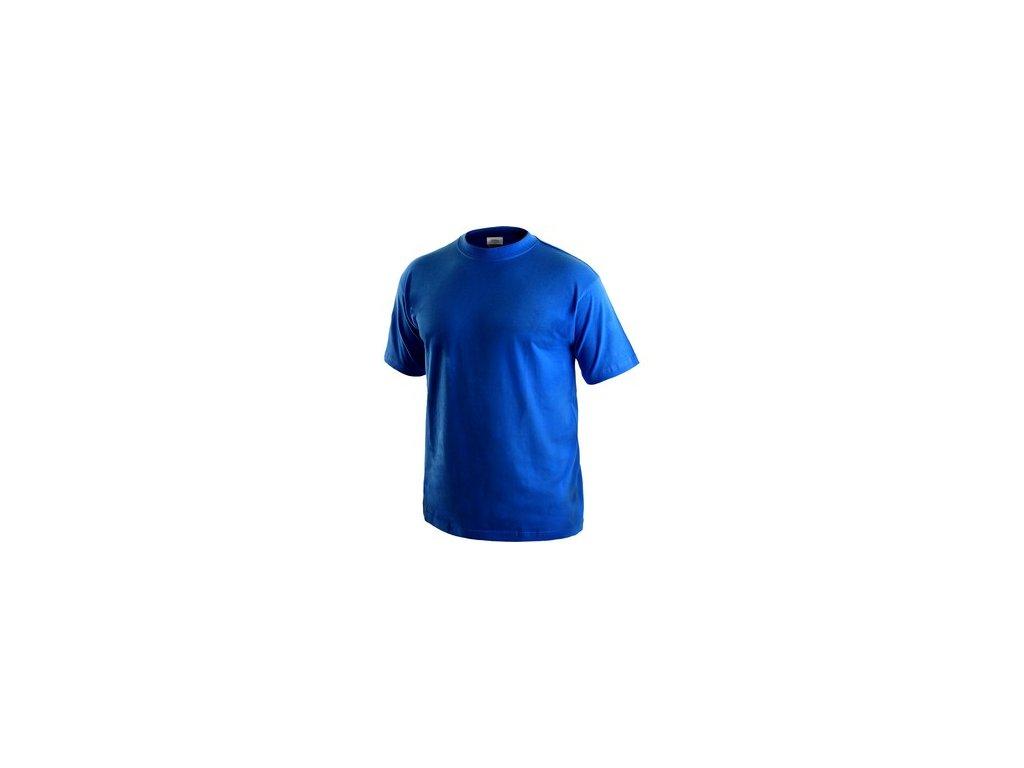 Tričko CXS DANIEL, krátký rukáv, středně modré