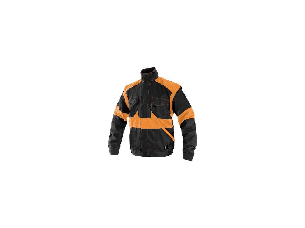 Blůza CXS LUXY EDA, pánská, černo-oranžová