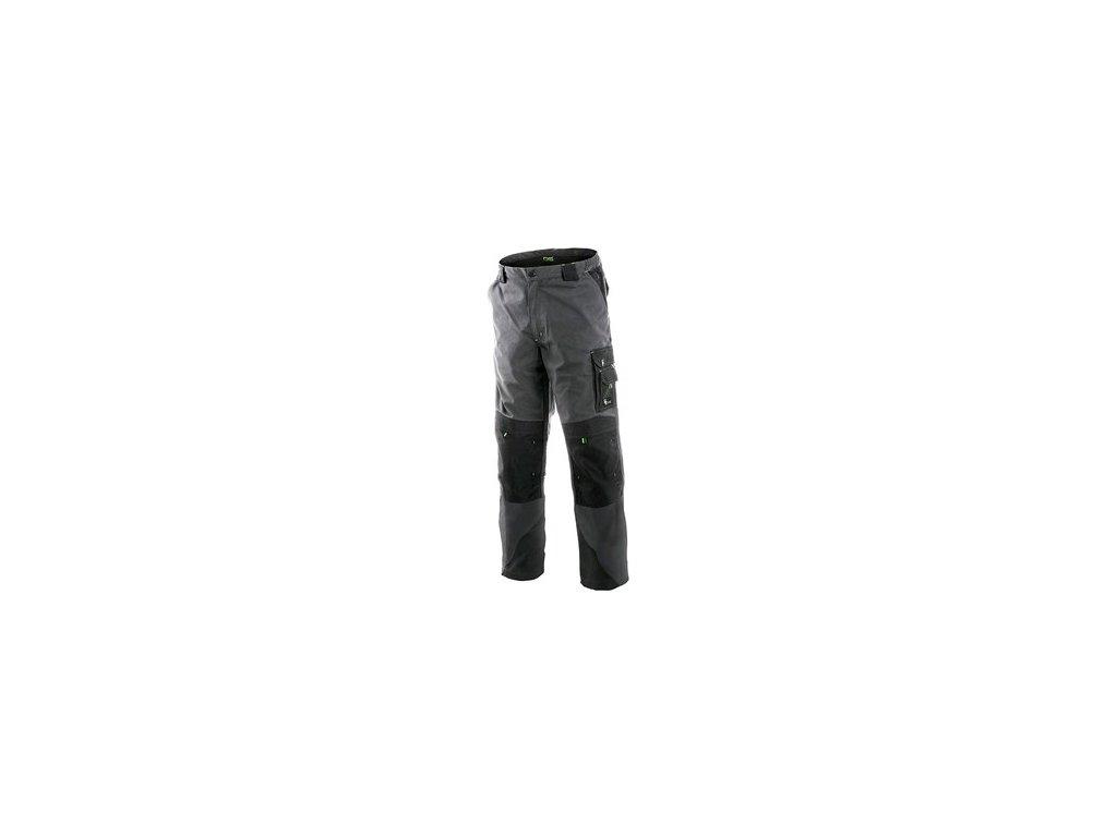 Kalhoty do pasu CXS SIRIUS NIKOLAS, pánské, šedo-zelené