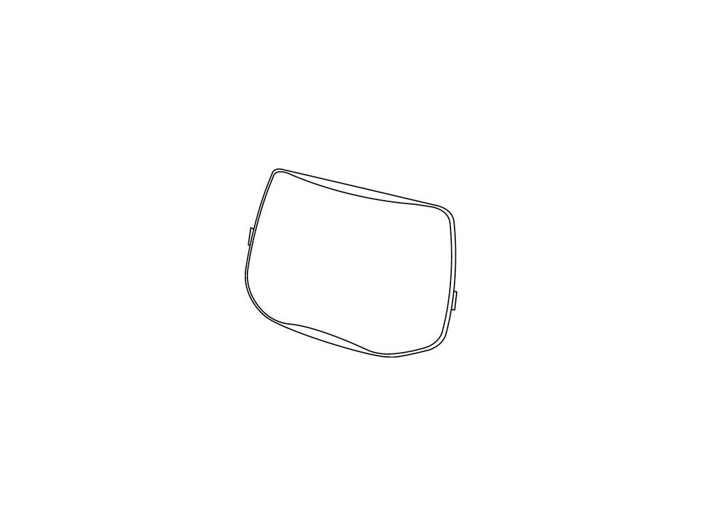 outer protection plate for speedglas 9100 adf