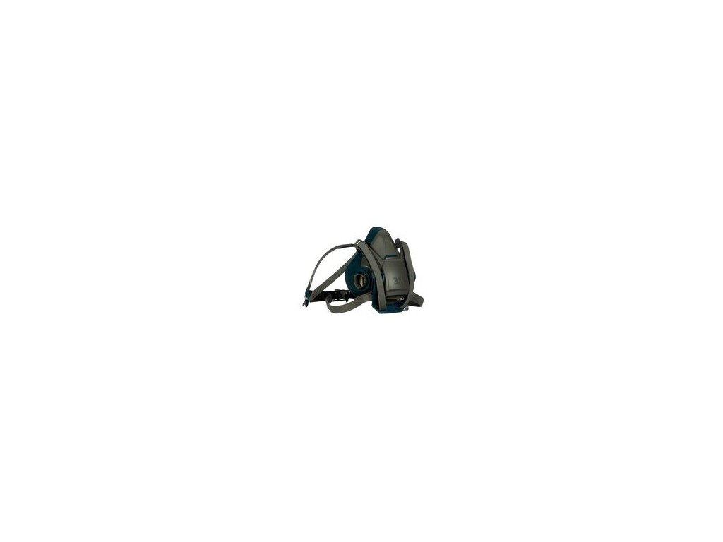 3m rugged comfort quick latch half facepiece reusable respirator 6501ql 49488