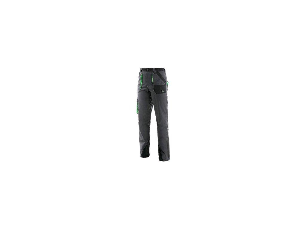 Kalhoty do pasu CXS SIRIUS AISHA, dámské, šedo-zelené