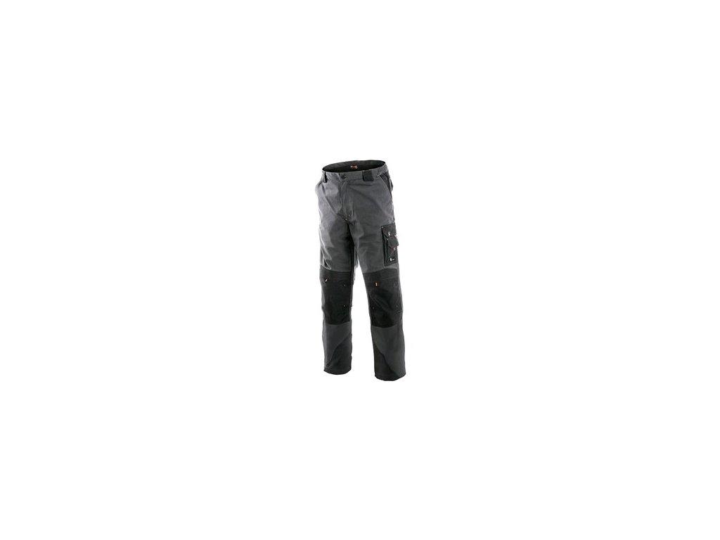 Kalhoty do pasu CXS SIRIUS NIKOLAS, pánské, šedo-oranžové