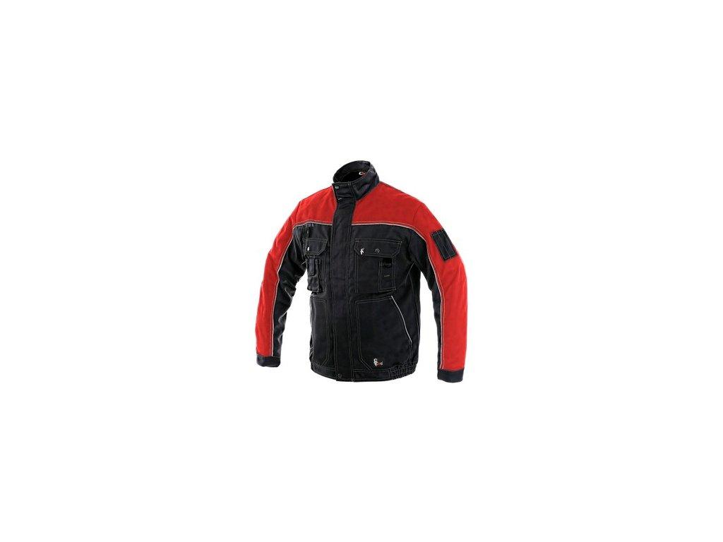Blůza CXS ORION OTAKAR, pánská, černo-červená