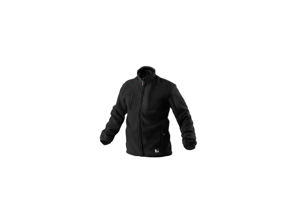 Pánská fleecová bunda OTAWA, černá