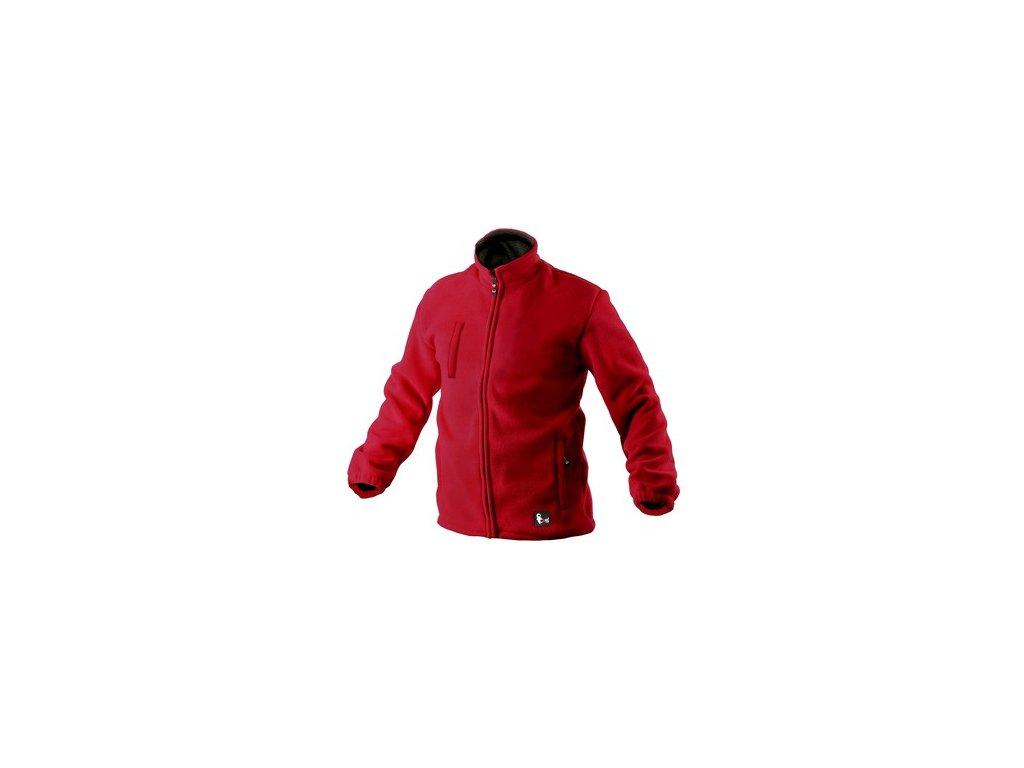 Pánská fleecová bunda OTAWA, červená