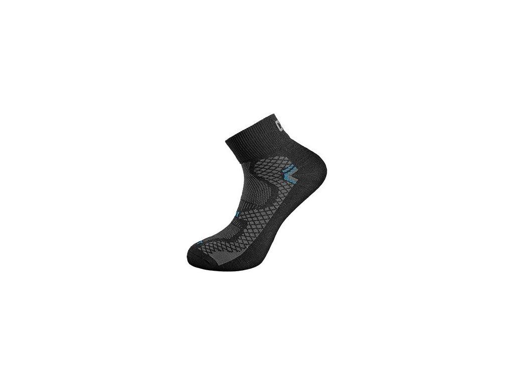 Ponožky CXS SOFT, černo-modré