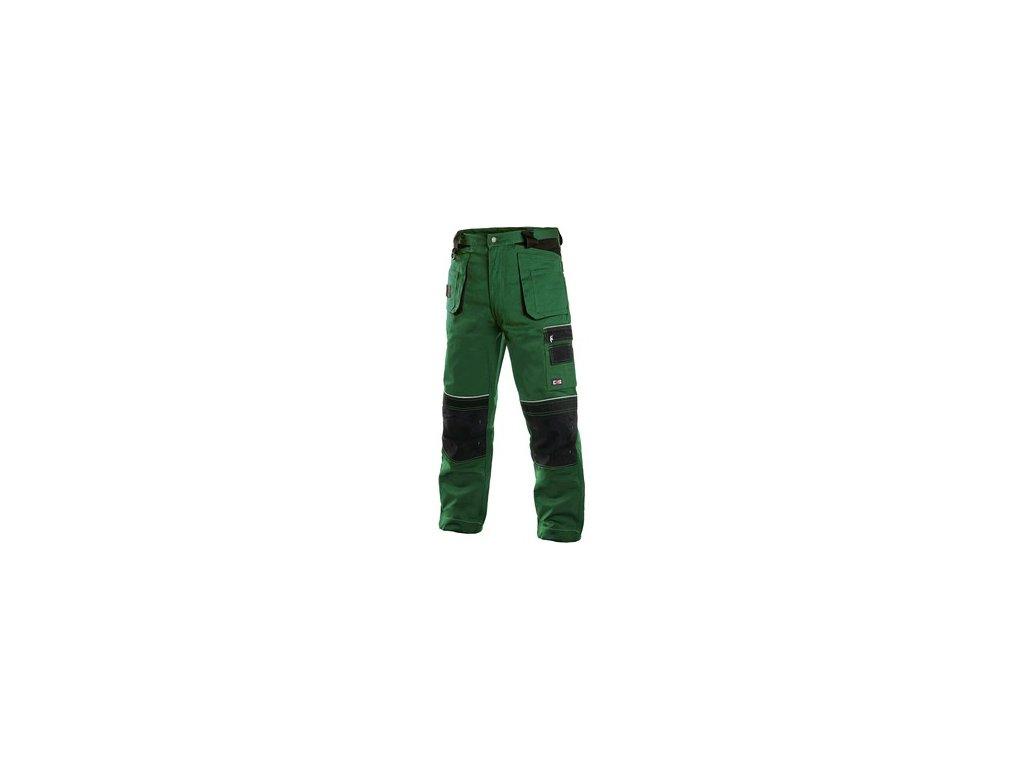 Pánské kalhoty ORION TEODOR, zeleno-černé