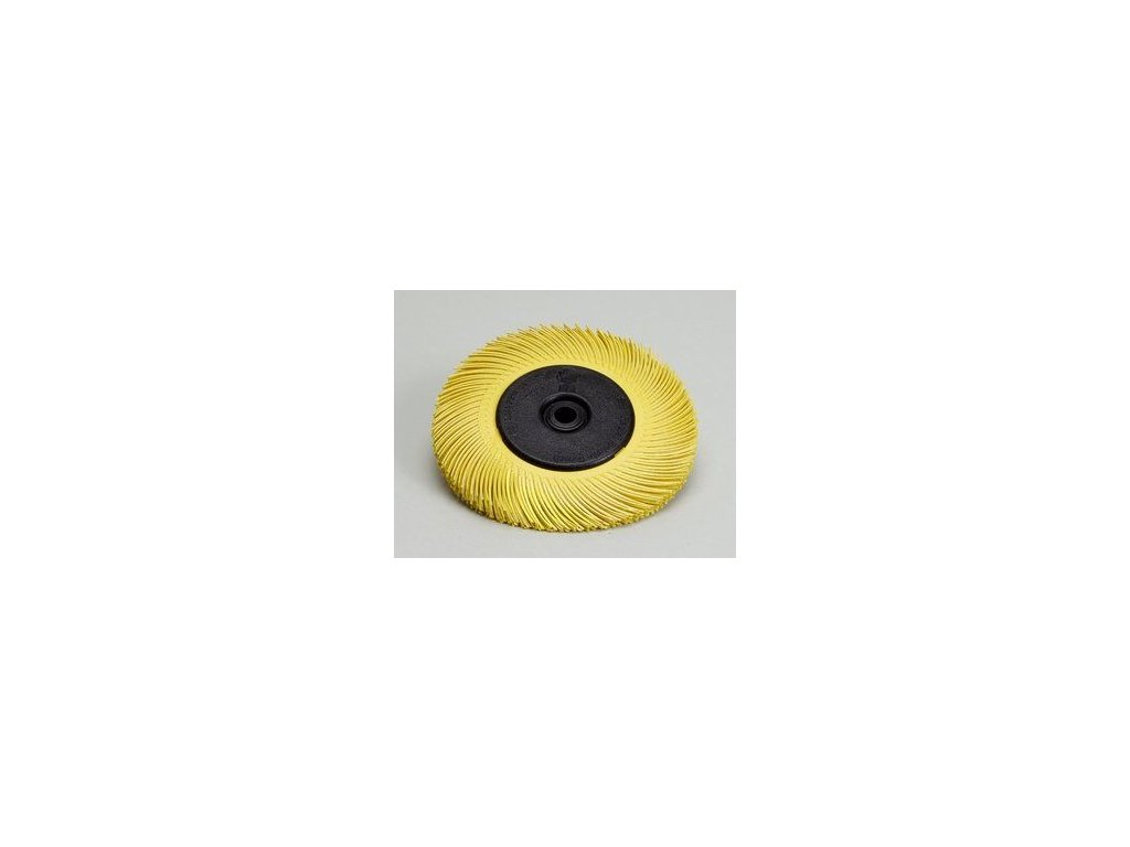 3mtm radial bristle brush t c 6 inch yellow