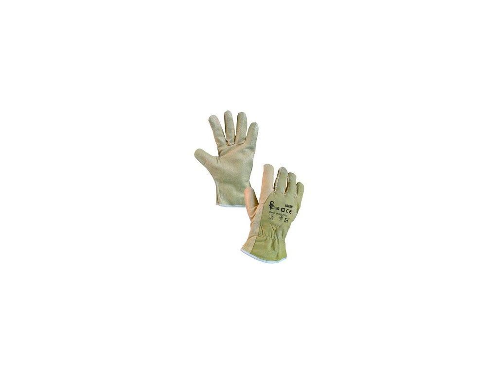 Kožené rukavice ASTAR