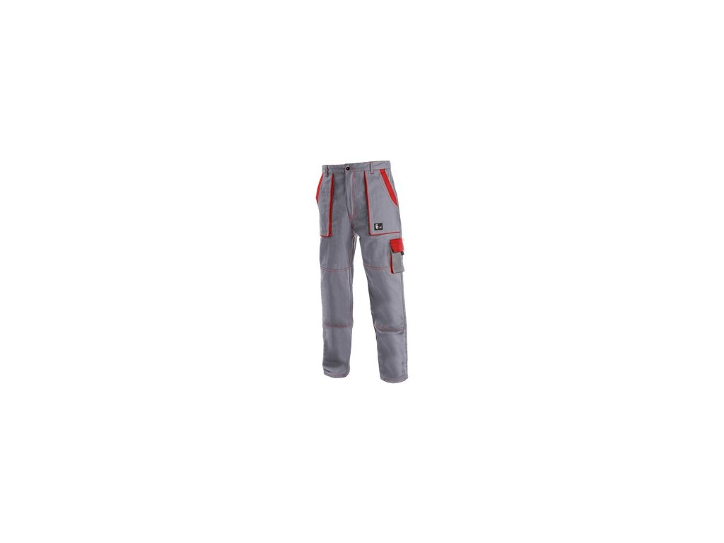 Kalhoty do pasu CXS LUXY JOSEF, pánské, šedo-červené