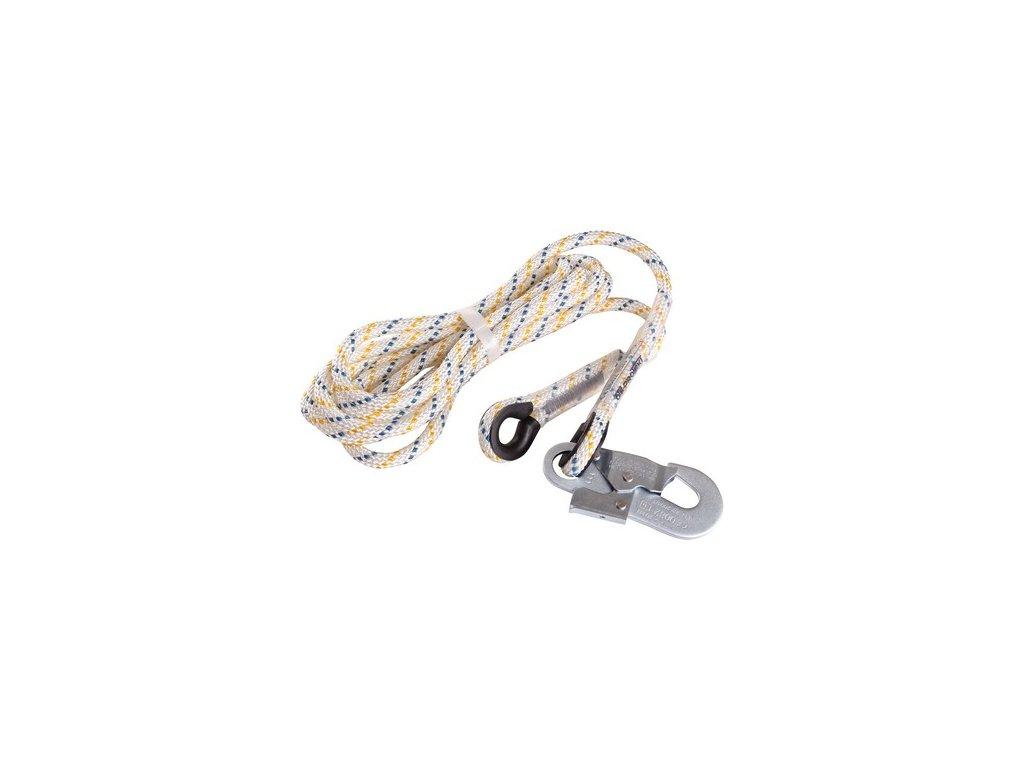 Pomocné lano LP 100 s karabinou, 2,5 m