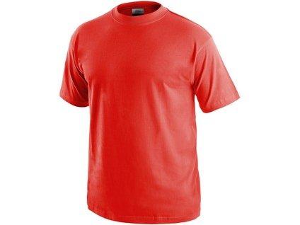 Tričko CXS DANIEL, krátký rukáv, červené