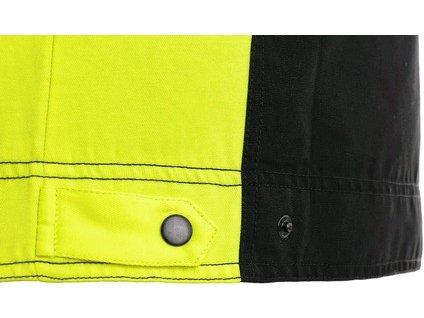 Blůza CXS SIRIUS BRIGHTON, černo-žlutá