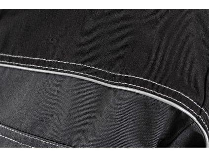 Blůza CXS ORION OTAKAR, zimní, prodloužená, pánská, šedo-černá
