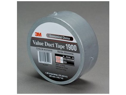 3mtm value duct tape 1900 2 inch vertical
