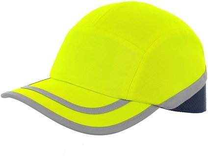 Čepice s plastovou výztuhou CXS Callum, žlutá