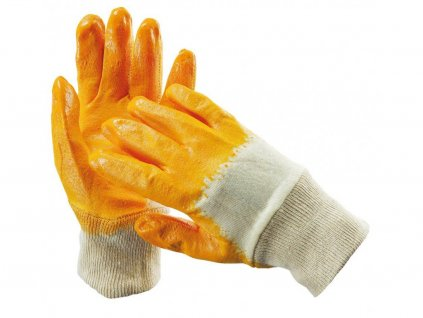 HARRIER ŽLUTÝ rukav. máč. v nitrilu
