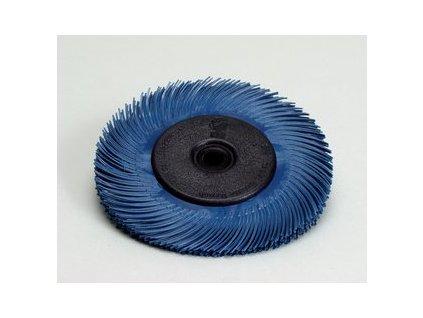 3mtm radial bristle brush t c 6 inch blue