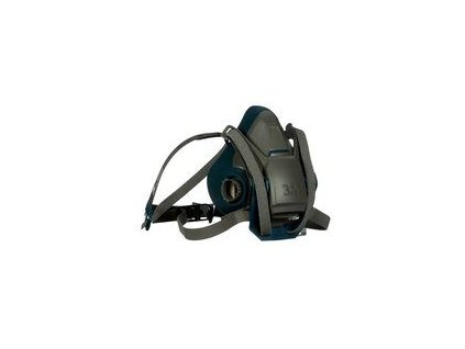 3m rugged comfort quick latch half facepiece reusable respirator 6501ql 49488