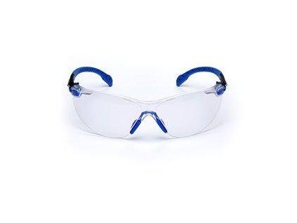 3m solus s1101sgaf blk blu clear lens front