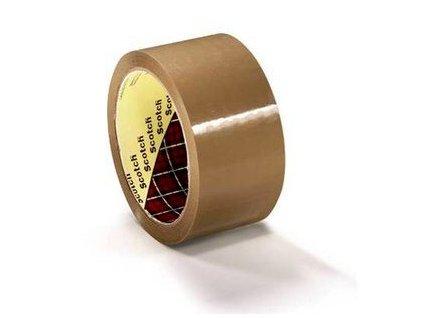 3m box sealing tape 371 brown
