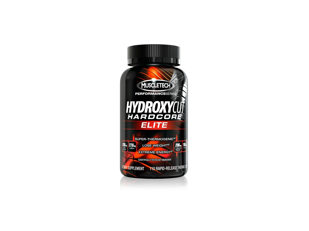 HYDROXYCUT HARDCORE ELITE 110 cps - Muscletech
