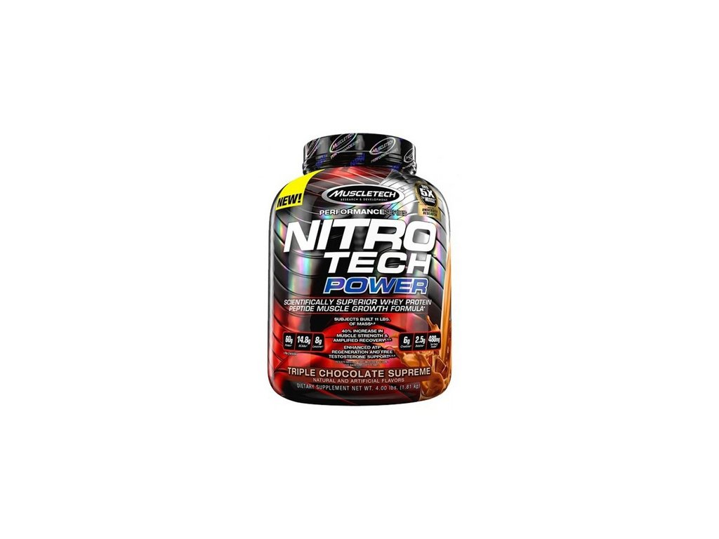 NITRO-TECH POWER 1,81 kg Muscletech