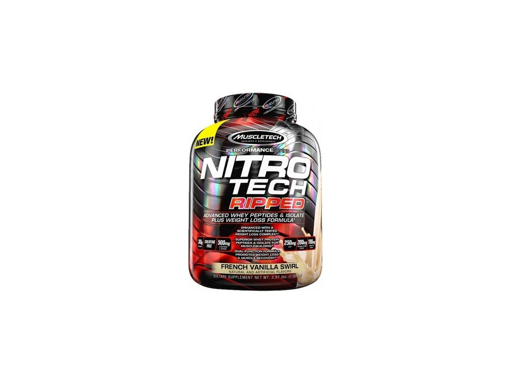 NITRO-TECH RIPPED 1,81 kg - Muscletech