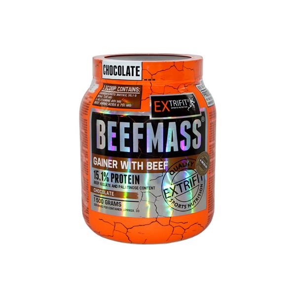 BeefMass Prichuť: čokoláda, Balení: 1500 g