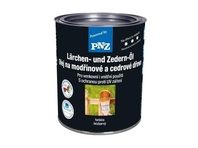 PNZ Olej na modřínové a cedrové dřevo 2,5l