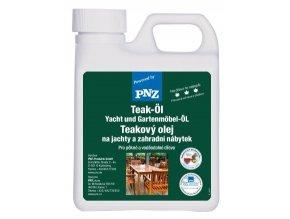 PNZ Olej na teakové dřevo 1 L