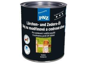 PNZ Olej na modřínové a cedrové dřevo 0,75l