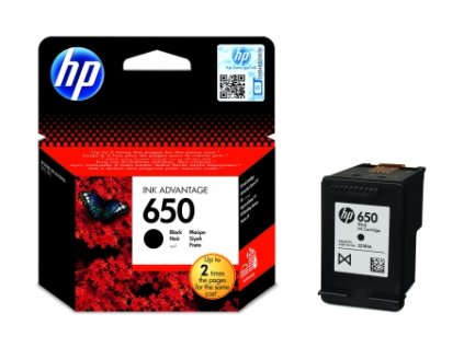 HP č.650 CZ101AE černá originální