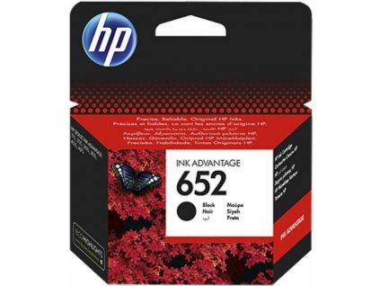 HP 652 originální černá