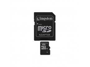 pametova karta kingston micro sdhc 8gb class 10 sd adapter