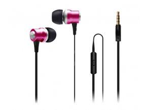 connect IT 222 sluchátka růžová