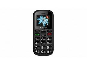 Mobilní telefon Aligator A321 šedo-černý