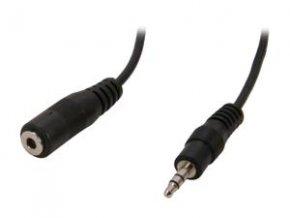 Kabel AV 2.5/3,5mm 0,1m