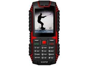 Mobilní telefon Aligator R12 eXtremo černo-červený