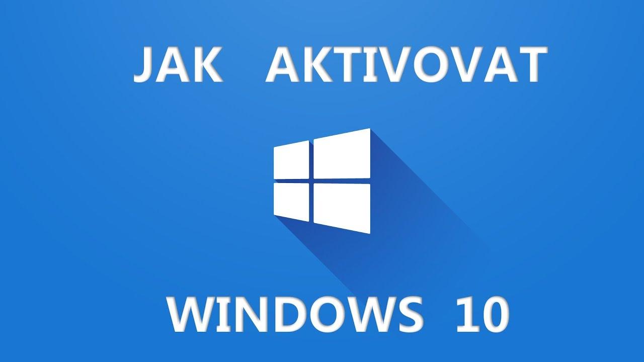 Aktivace Windows 10