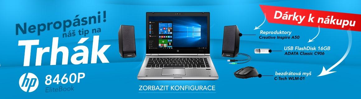 HP elitebook 8460p + dárky
