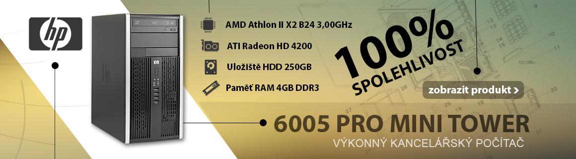 HP COMPAQ 6005 PRO MINI TOWER